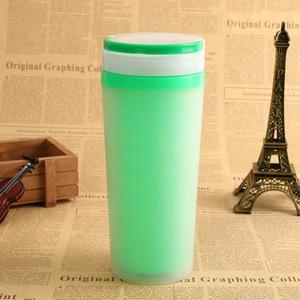 广告双层塑料杯